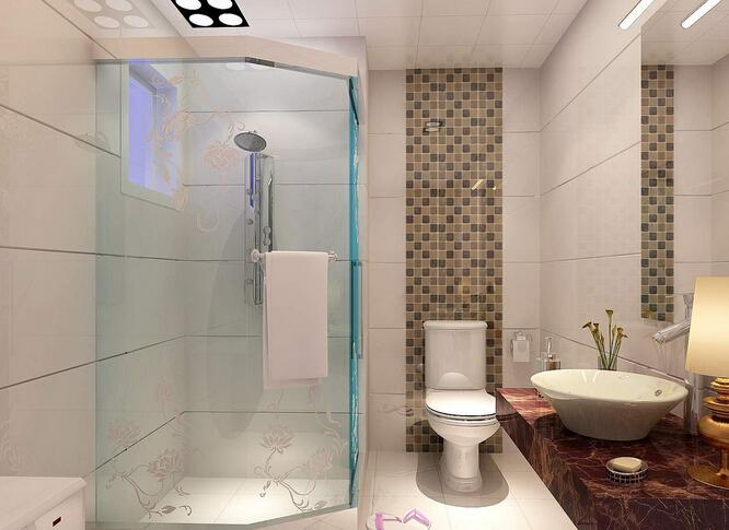 卫生间装修 卫生间淋浴房