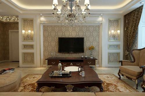 中式电视背景墙效果图大全