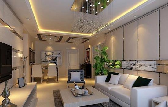 20平米客厅装修效果图