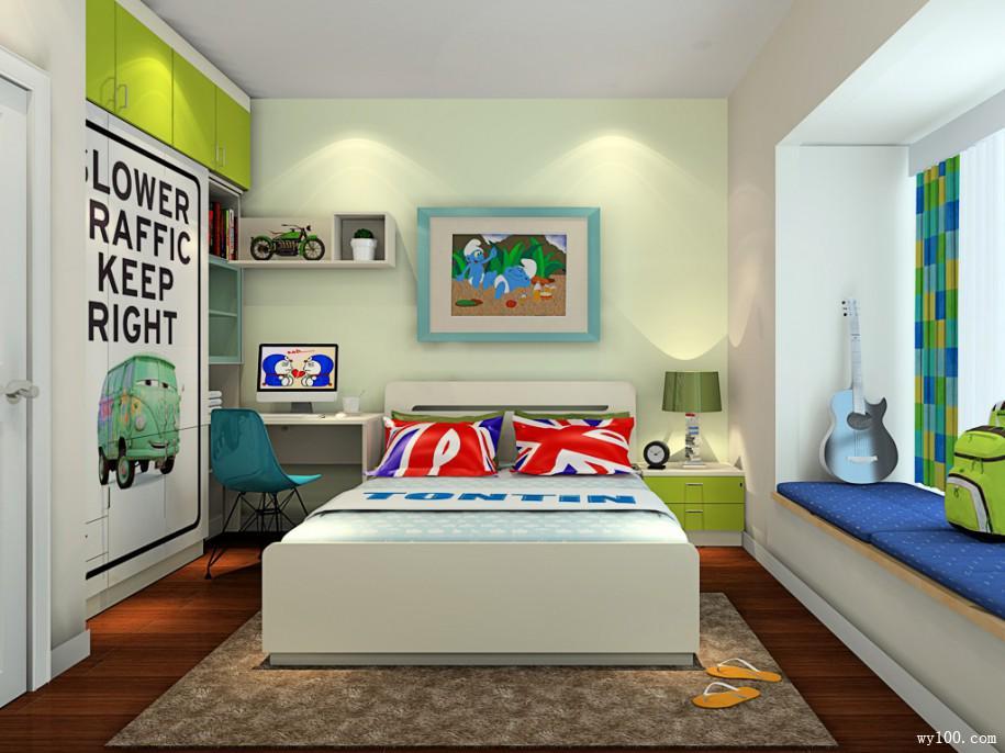 教你打造孩子的快乐天地 儿童房装修效果图