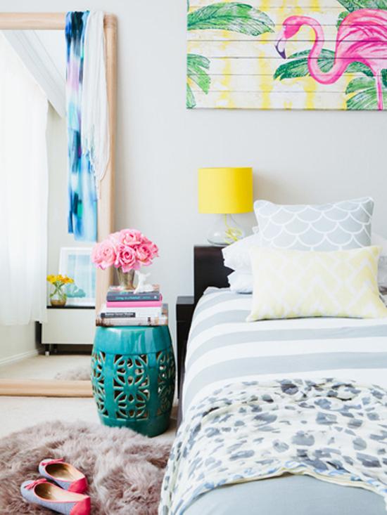 超美卧室背景墙设计