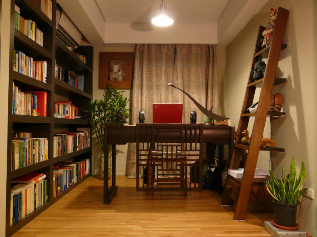 小空间也能有完善功能 四大小户型书房设计要点