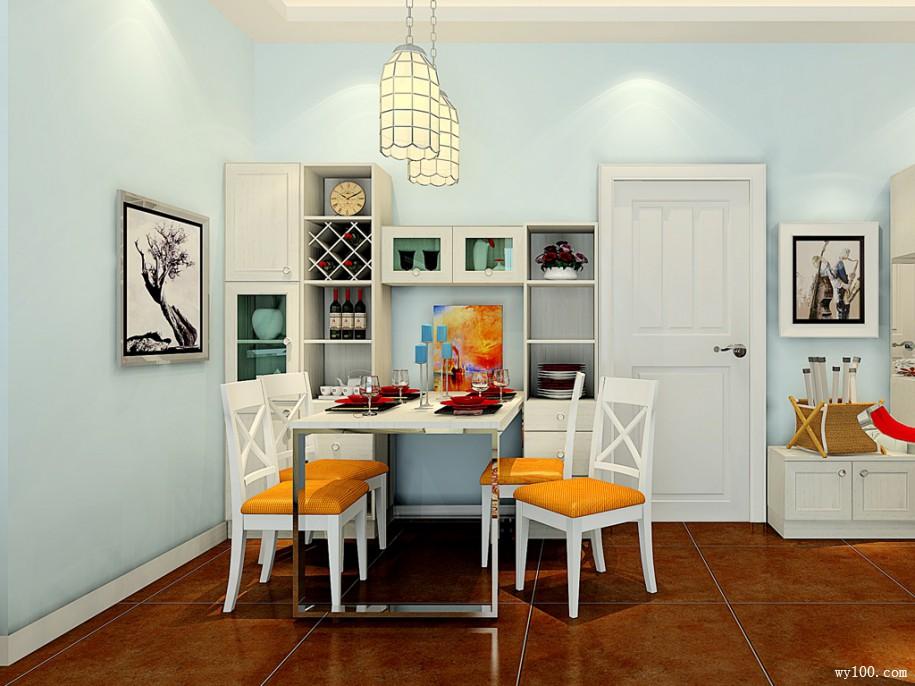 33�O美式田园客厅效果图 舒适宁静