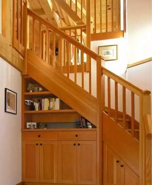 家用楼梯收纳设计效果图