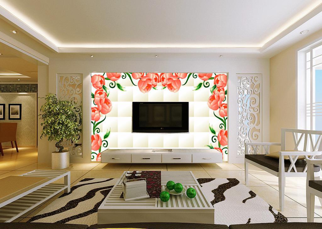 通过电视墙图片看怎样装修电视墙