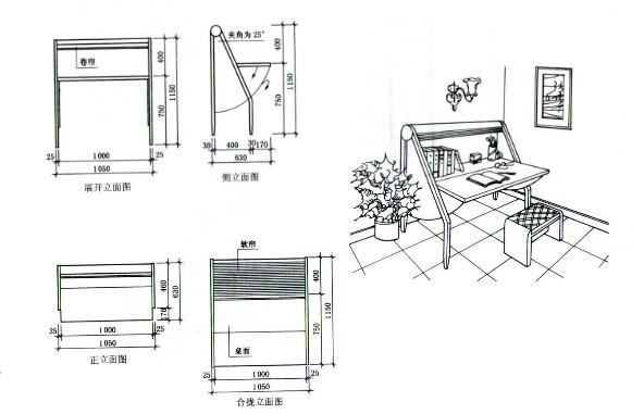 简述家具设计图的设计原则