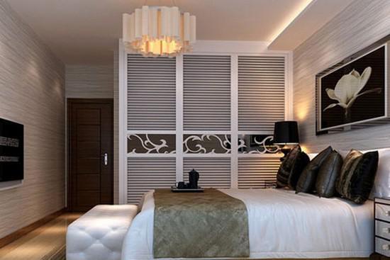 从卧室设计图中选择自己满意的