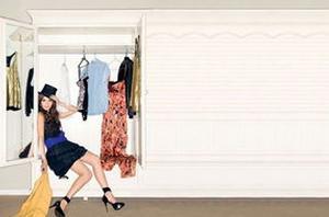 时尚衣橱已经成为当下的潮流