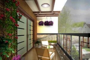 阳台装修图片