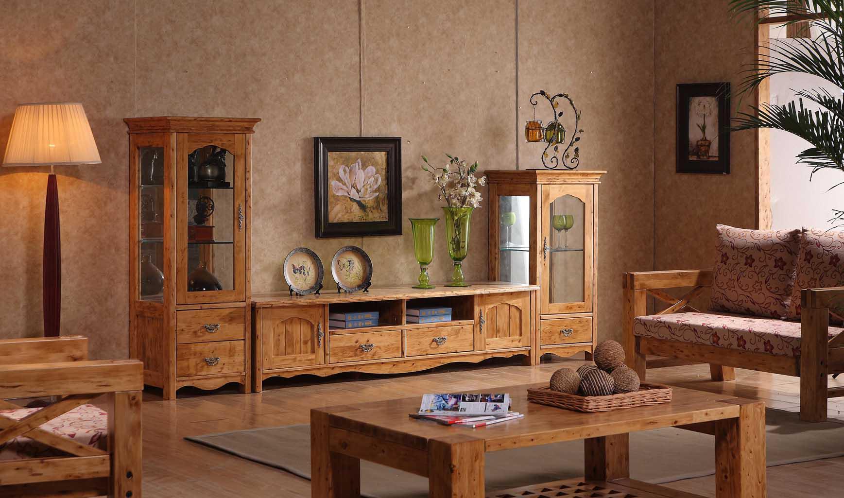 纯实木家具图片中的实木家具