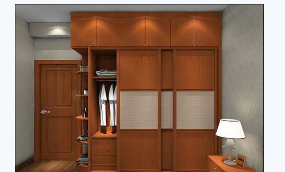 一些到顶衣柜效果图中的设计