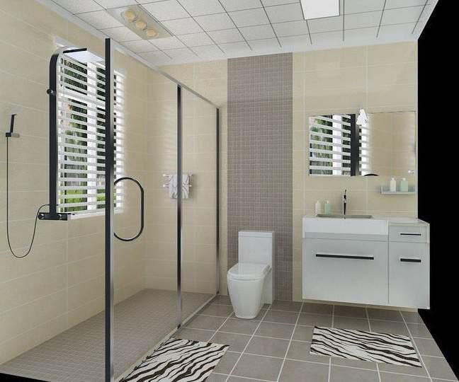 厕所装修效果图