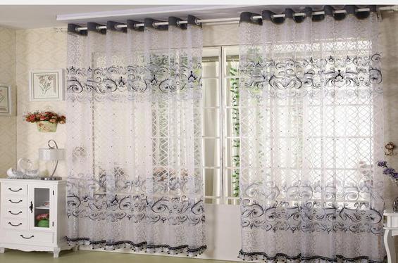 有哪些好的客厅窗帘效果图
