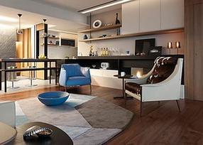 不同风格的客厅装修效果图