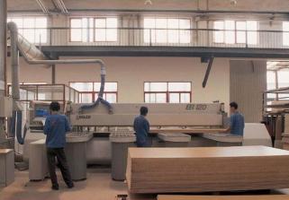 通过家具厂车间图片来了解家具制作流程