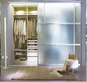 嵌入式衣柜 隐藏衣柜图片