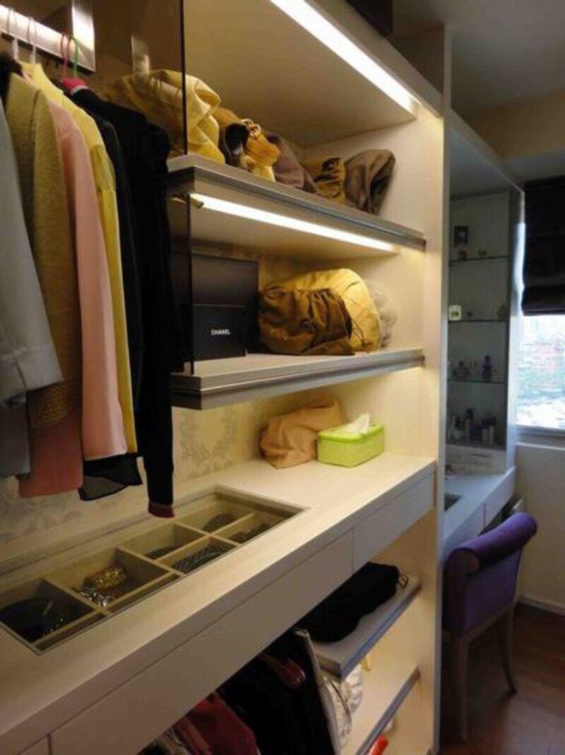 怎样根据衣柜喷漆效果图选择衣柜