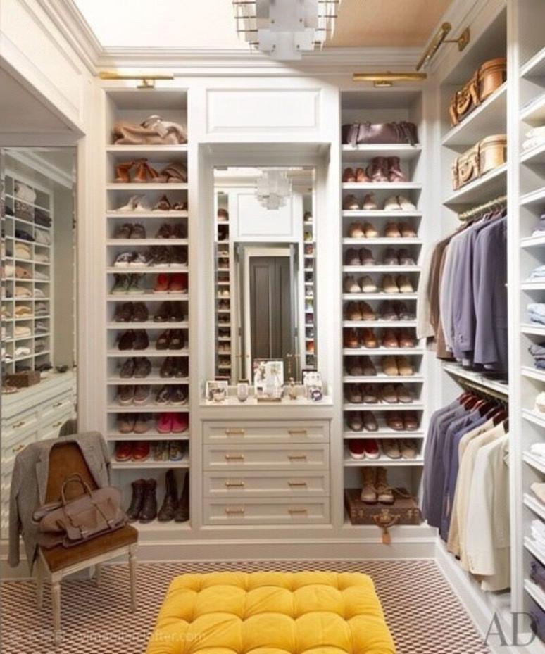 不同风格的衣柜设计效果图