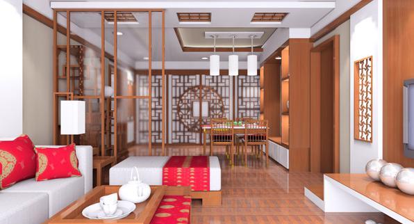 好看的中式家装效果图
