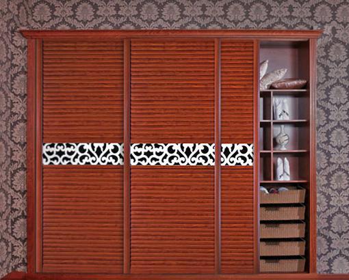 好看的中式衣柜效果图