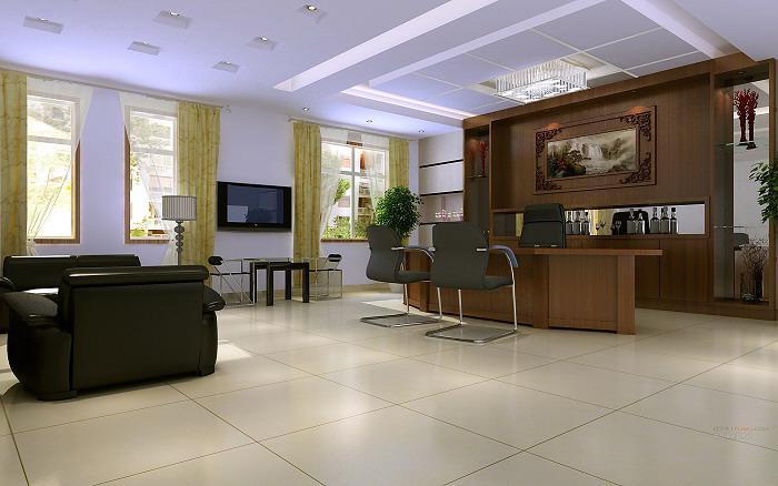 有哪些好看的办公室装修效果图