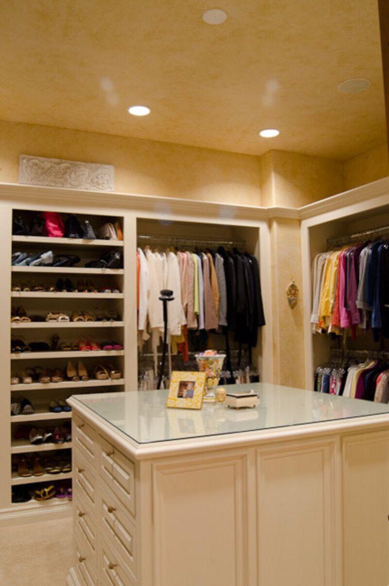 有哪些好看的大衣柜内部结构图