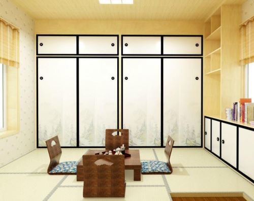 日式榻榻米是流行的装修设计