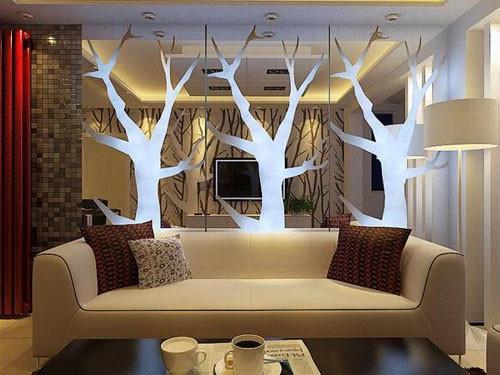 沙发背景墙选择风格非常多