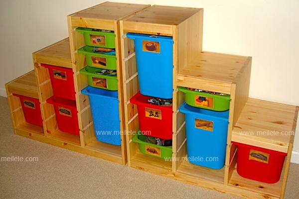 家具整理架子成为小宝贝的玩具