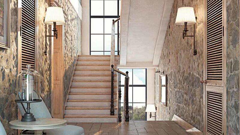 有哪些好看的阁楼楼梯装修效果图
