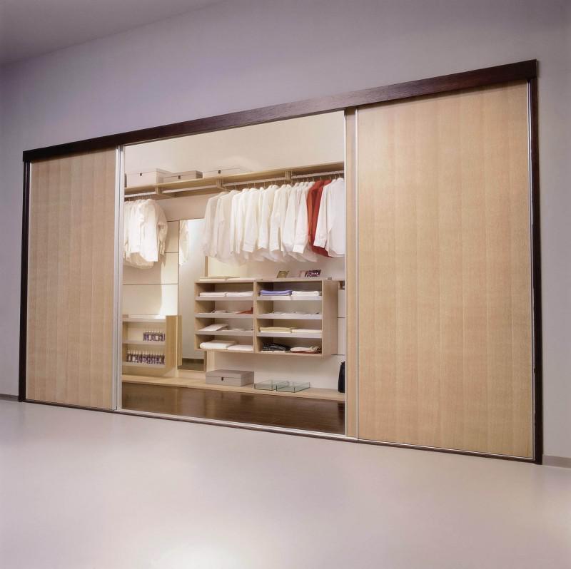 多式多样的衣柜内部设计图式样