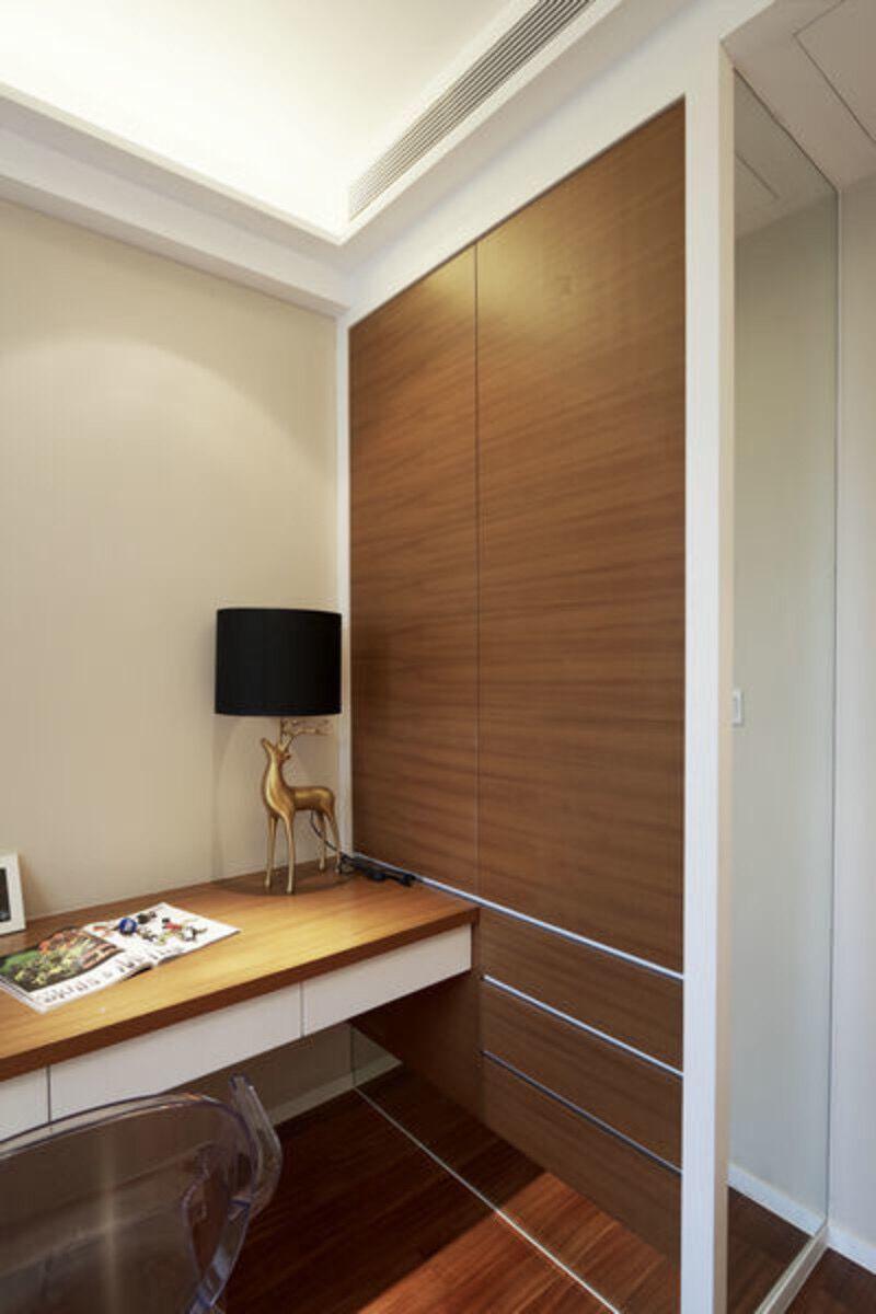 转角书桌书柜设计图的设计观点