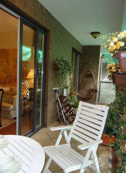 通过客厅阳台装修效果图了解客厅阳台
