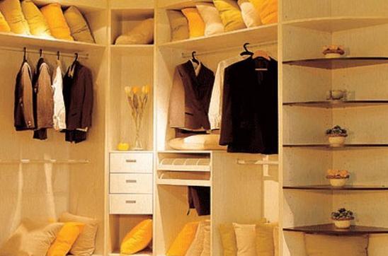 家装房间大衣柜效果图