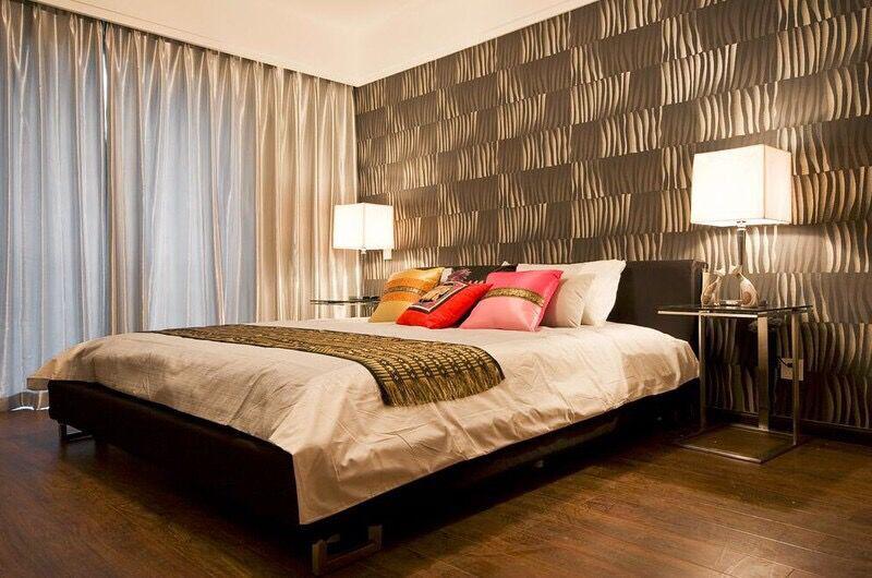 好看实用的卧室壁纸装修效果图