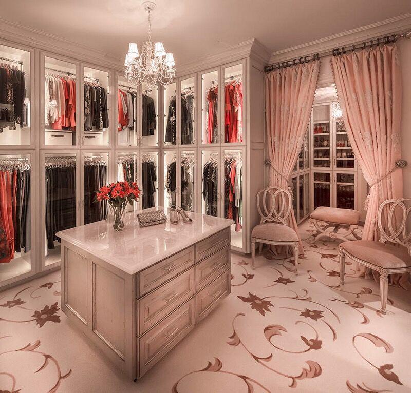 有哪些好看的卧室带衣帽间效果图