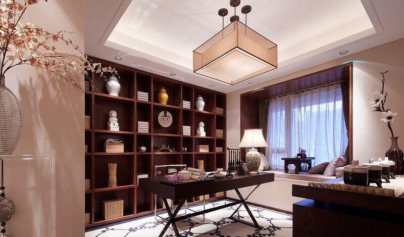 精美的书房设计装修效果图