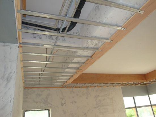安装轻钢龙骨吊顶的步骤是什么