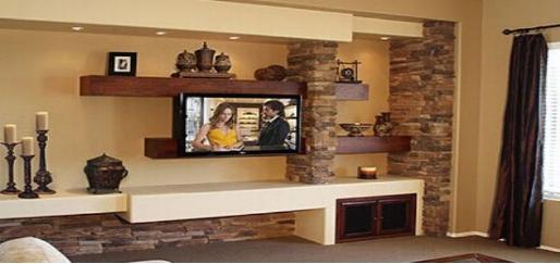 美式电视背景墙