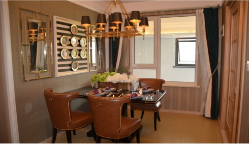 三室两厅一卫装修效果图及设计高清图片