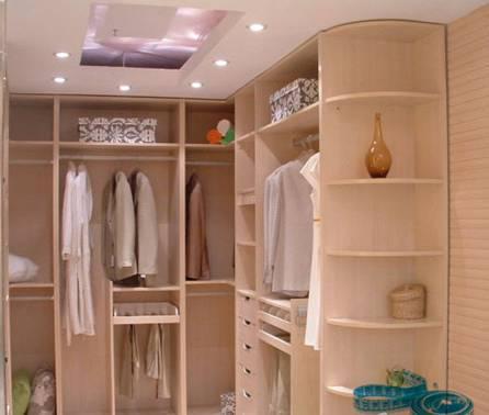 转角衣柜设计的三种实用类型