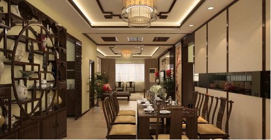 中式家装设计的三大基本特点