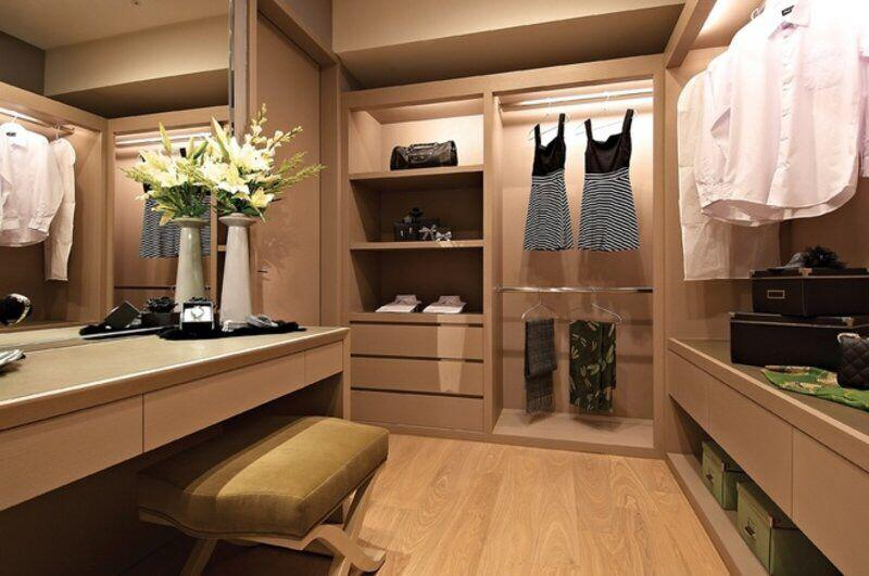 有哪些风格卧室衣帽间设计效果图