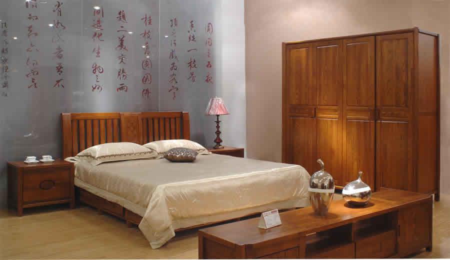 卧室实木家具