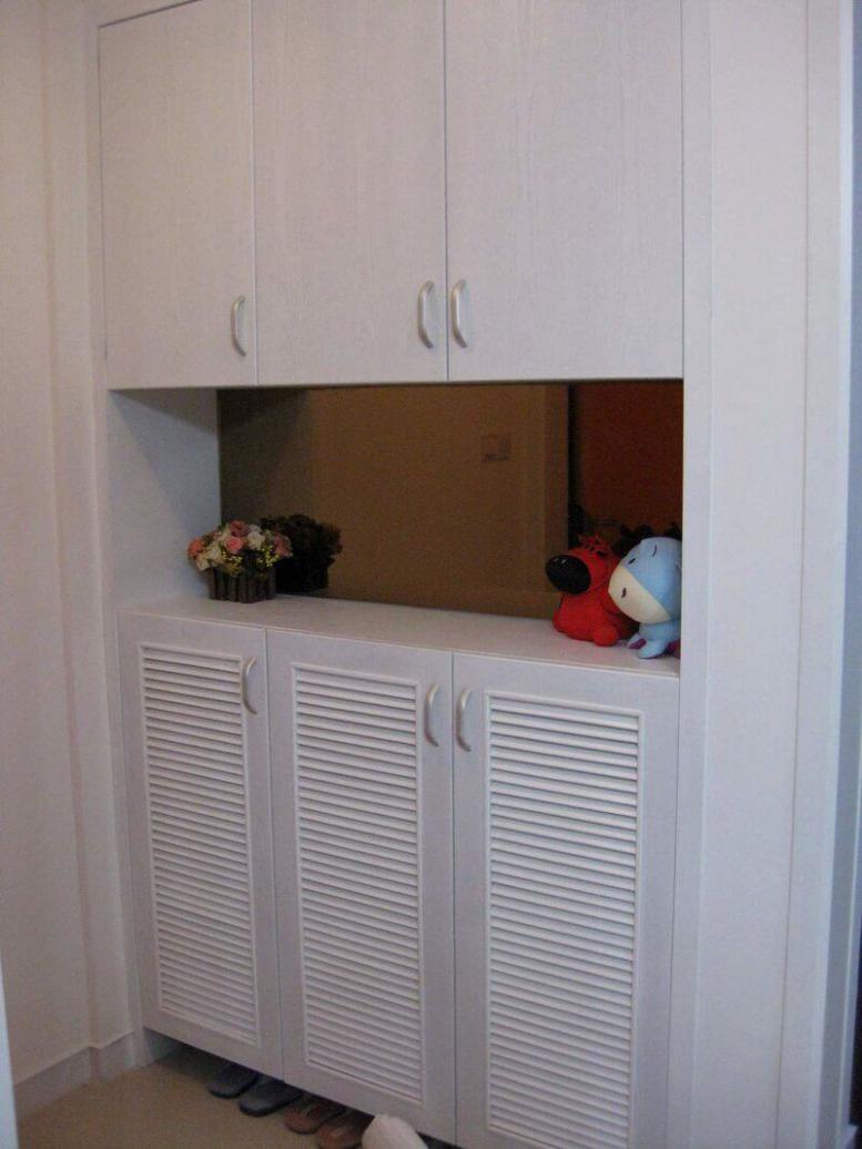 好看又实用门厅鞋柜加衣柜效果图