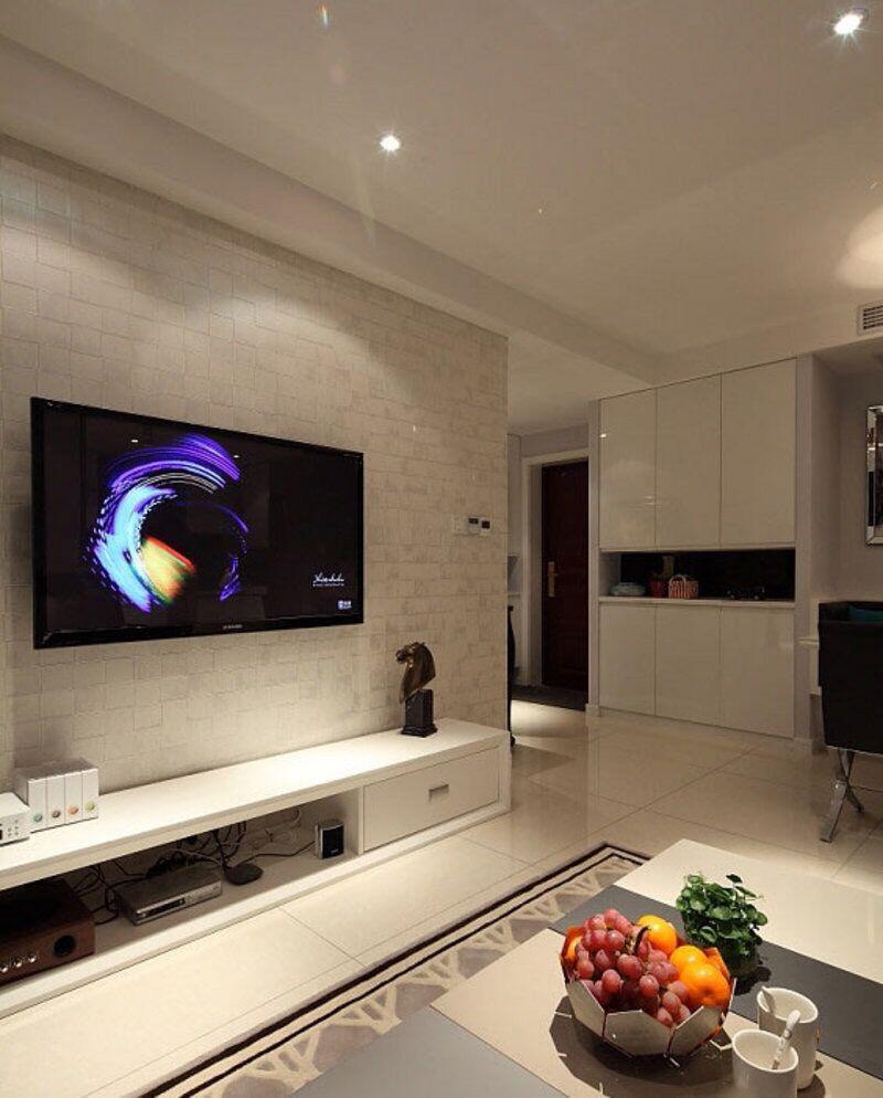 电视背景墙装修效果图大全2015图片