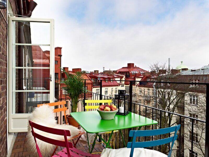 阳台装修效果图大全2013图片