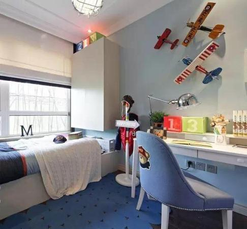 儿童房间榻榻米装修效果图