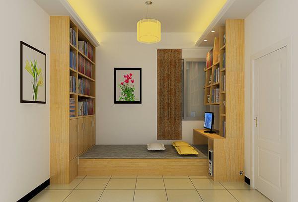 榻榻米和书桌怎样节省空间图