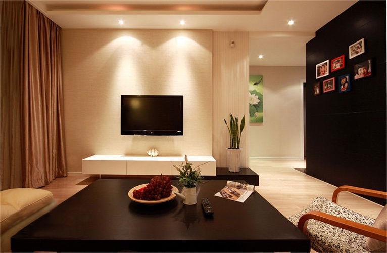 令人咋舌的硅藻泥电视背景墙效果图